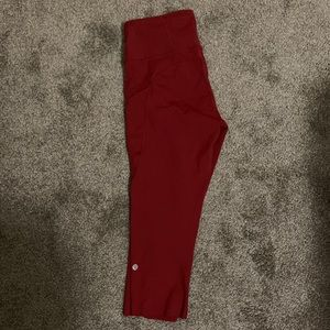 Fast and free cropped yoga pants